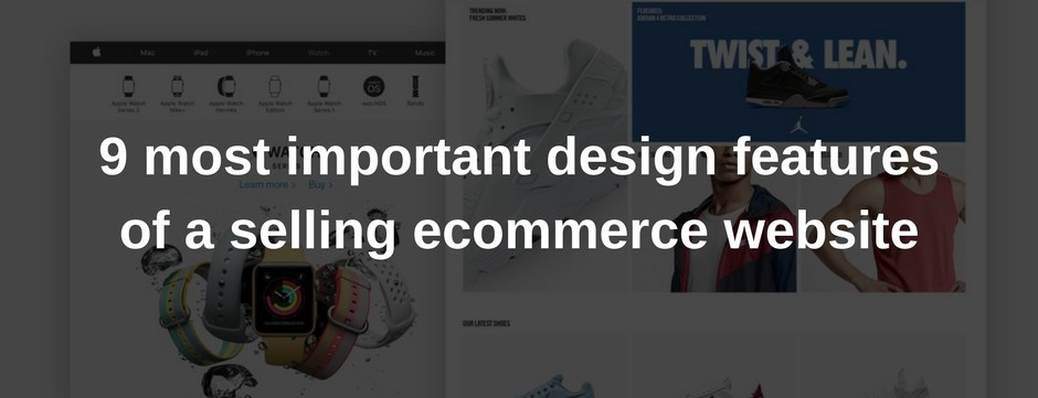 design for ecommerce websites