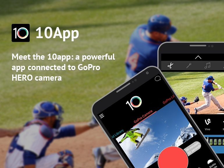 10App for GoPro HERO camera