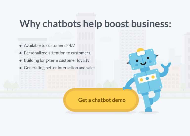 grow business with chatbots