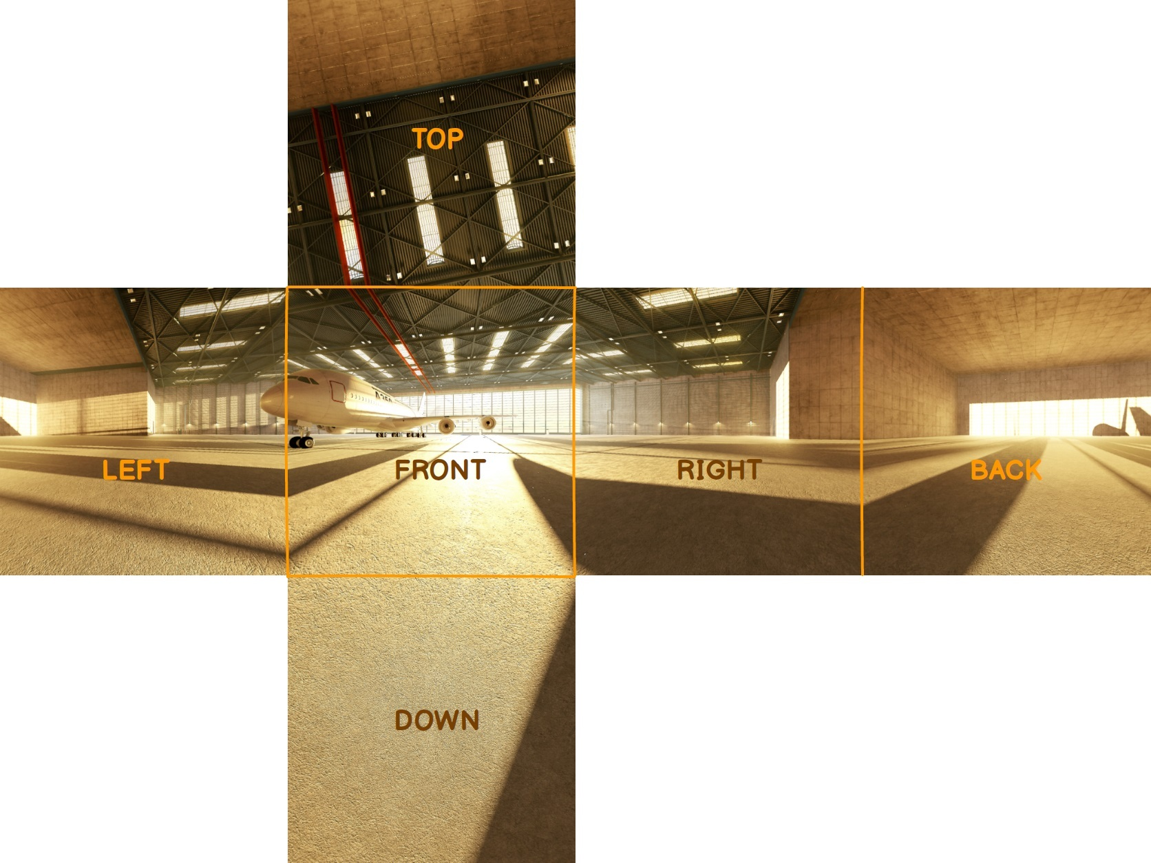 How to Use 360° Equirectangular Panoramas for Greater Realism in Games