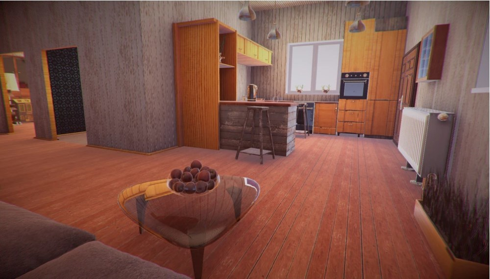 Home interior with Unity 3D