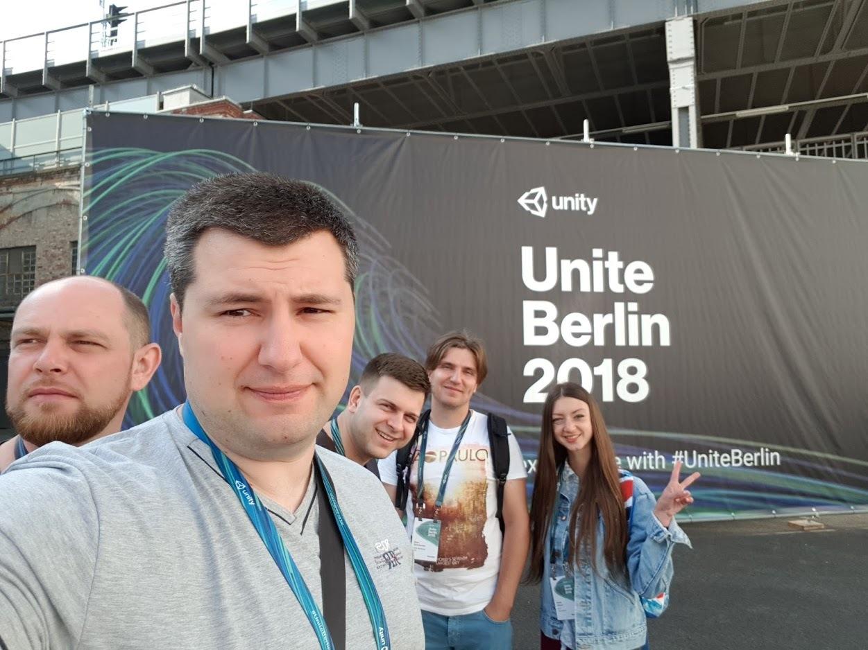Onix Game Development Team at Unite Berlin 2018